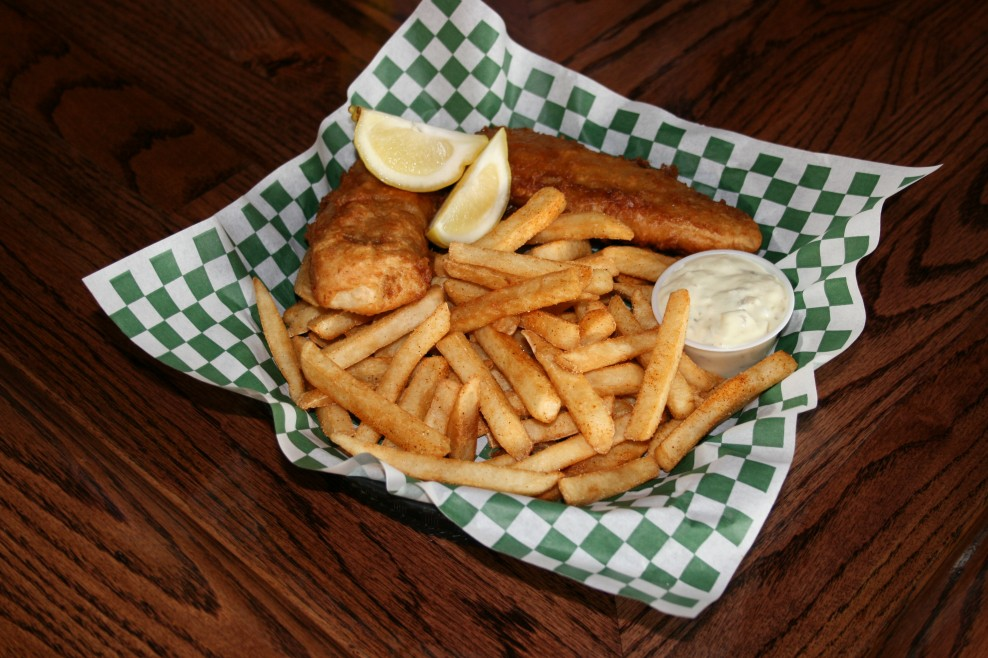 Hand Dipped Fish and Chips